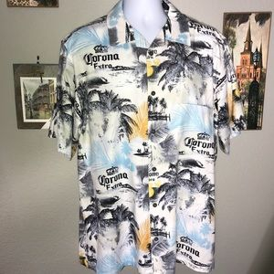 5d7ccfb23 Newport Blue Corona Hawaiian Shirt